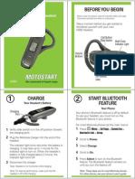 Motorola H550 Manual