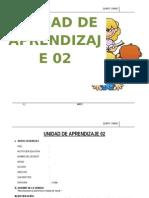 UNIDAD DE APRENDIZAJE  5°  MAYO  - 2015