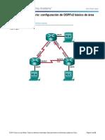 8.2.4.5 Lab - Configuracion de OSPFv2 Basico de Area Unica