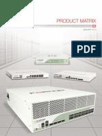 Fortinet Product Matrix 0215