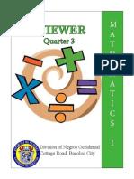 Reviewer in Mathematics I-Quarter 3.pdf
