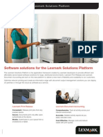 11EMEA0602 Lexmark Solutions Platform Brochure s2 101811 r2.2