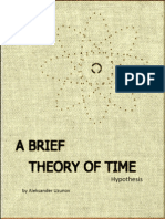 A Brief Theory of Time / hypothesis