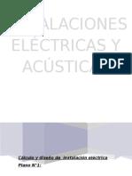 Instalaciones Eléctricas y Acústicas