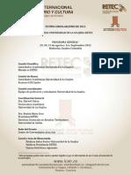 Ultima Circular Xi Seminario Internacional Sobre Territorio y Cultura Guajira 2012 Correccin (1)
