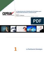 Importancia de La Planificacion Estrategica Para El Desarrollo