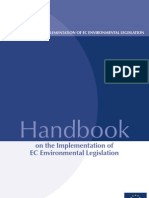 Implementation Handbook of Environmental Acquis