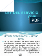 Servicio Civil - Exposición Cusco