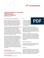 Warranty Standard PV Module En