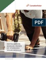 Installation Manual Annex Standard Solar Module En
