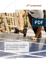 Installation Manual of Standard Solar Modules IEC En