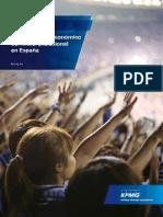 Impacto Socio Economico Del Futbol Profesional en España (KPMG, 2015)