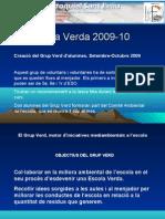 Escola Verda 2009-10