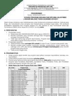 Penerimaan Mahasiswa Baru Program Sarjana Dan Diploma Jalur Pmdk