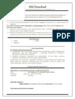 Naushad Resume