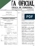 Ley Organica de Regimen Municipal. (venezuela)