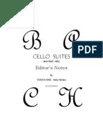 Bach 6 Cello Suites Without Slurs Yokoyama 2013 Notes