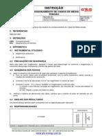 I-CMS-002 Comissionamento de Cabos de Média Tensão