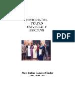 Historia Del Teatro Universal y Peruano Antiguo