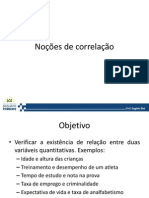Correlacao e Regressao Ppt