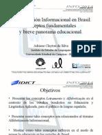 """Presentación del trabajo """"Alfabetización Informacional en Brasil"""""""