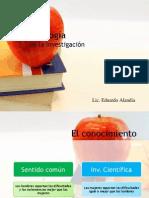 Diapositivas Metodología de la Investigación