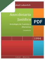 Anecdotario Jasídico. Antológia de Cuentos y Aforismos