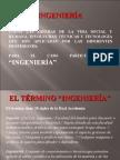 Definición de Ingeniería Diapositivas Módulo I