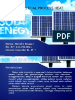 Solar industrial Process Heat