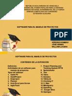 software para el manejo de proyectos