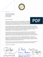 Letter from House DFL to Governor Dayton in support of education