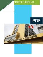 Presupuesto Fiscal Perú 2015