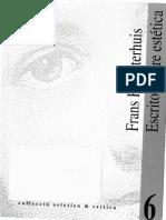 Frans Hermsterhuis - Escritos Sobre Estetica
