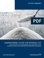 Hilge Dimensioning Guide for Sugar Syup and Other Viscous Media