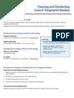 Finger Print Guide Cleaning DP Reader20101122