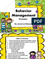 Behavior Management Strategies