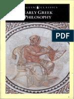 Barns Early Greek Philoophers