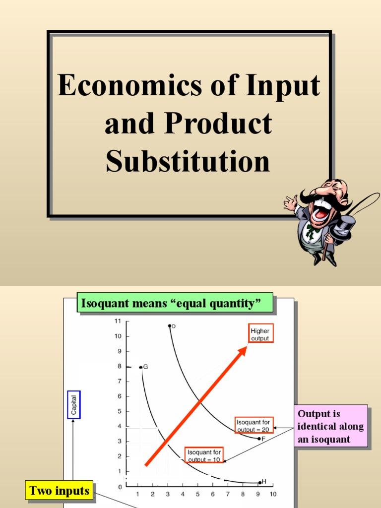 Isoquant and Isocost | Mathematical Optimization ...