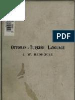 Ottoman -Turkish Language