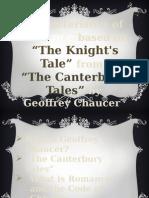 Romance- The Knight's Tale