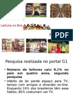 Leitura No Brasil- Últimas Pesquisas e Dados Estatísticos