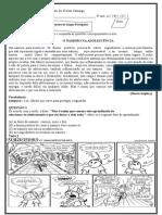 Avaliação de Português 3º Bimestre