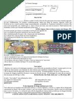 Avaliação de Português 4º Bimestre