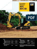 Catalogo Excavadoras Hidraulicas 307c Sb Caterpillar