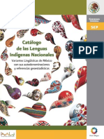 Catalogo Lenguas Indigenas
