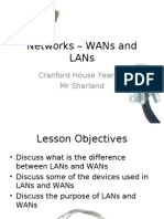 Networks – WANs and LANs