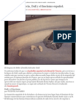La Bienal de Venecia, Dalí y El Fascismo Español