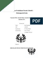 Laporan Praktikum Desain Tekstil 1