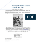 Marine Corps Individual Combat Course, July 1944