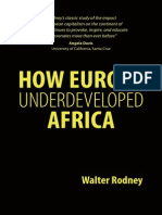 Rodney How Europe Underdeveloped Africa